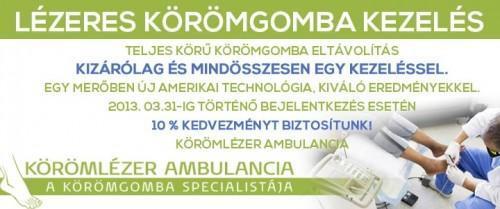 Német Bőrgyógyászati Intézet - Körömlézer Ambulancia